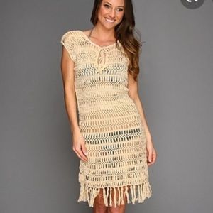 Melissa Odabash Beige Beach Dress Coverup Small